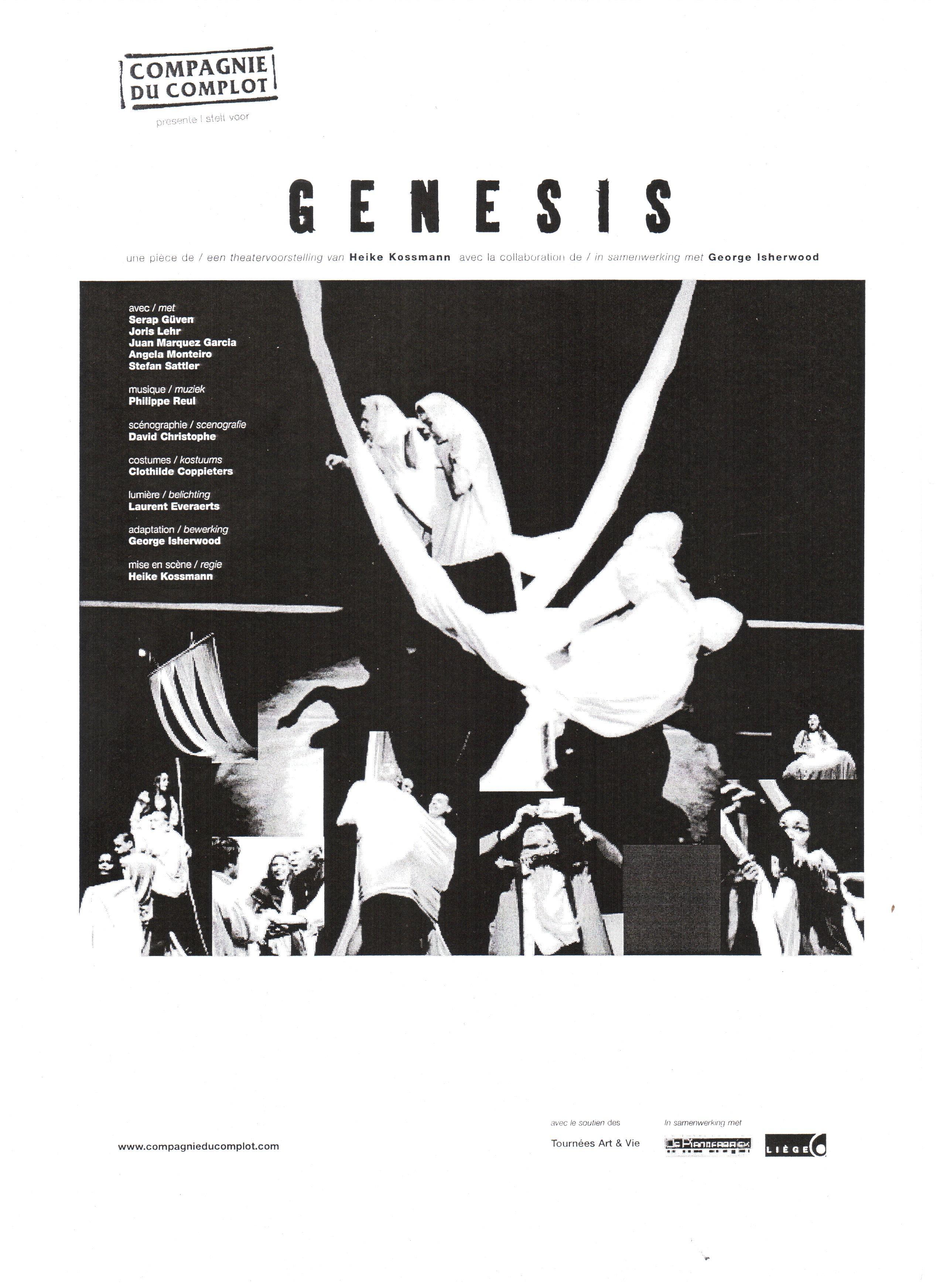 1) Affiche Genesis