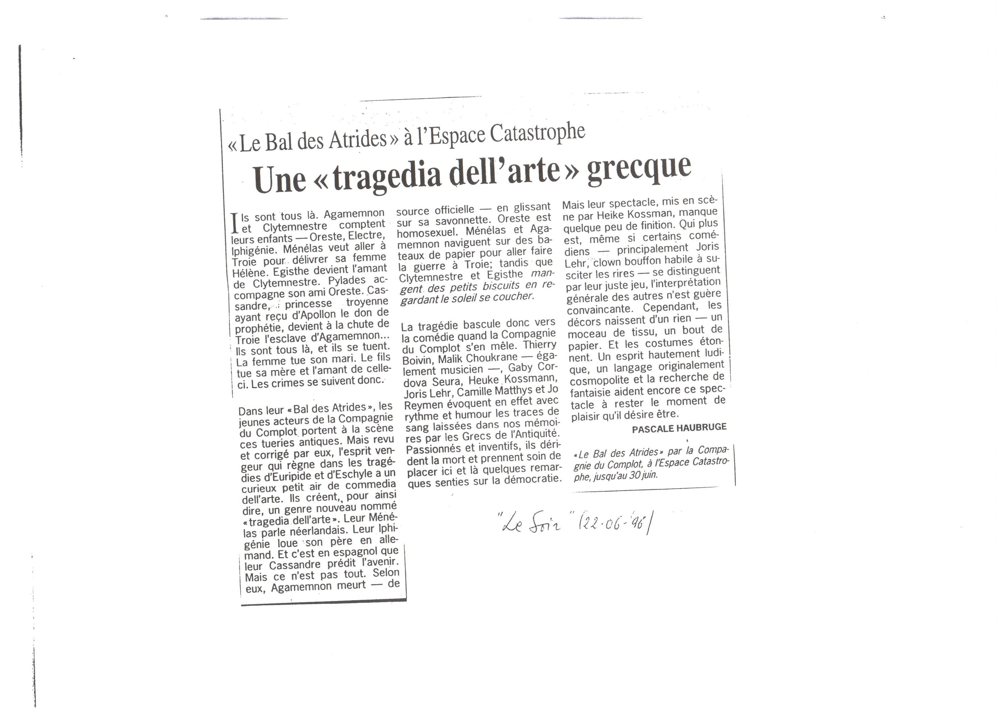 4) Le Soir